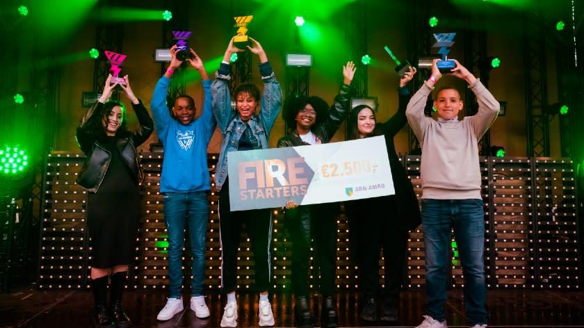 Winnaars van de Young Impact Awards